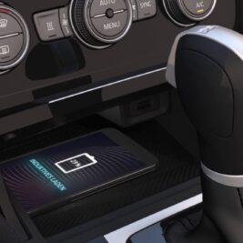 cargador inalambrico VW